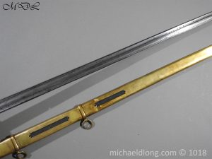 P56046 300x225 Household Cavalry Dress Sword Patern 1814
