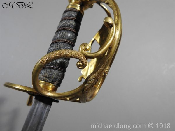 P56066 600x450 Household Cavalry Dress Sword Patern 1814