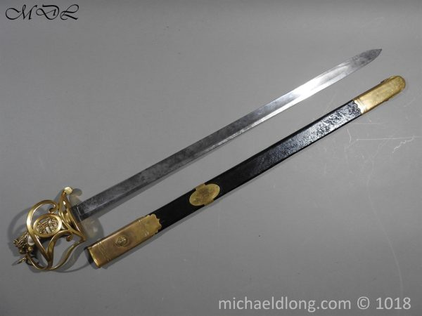 P56108 600x450 British Georgian Presentation Naval Sword