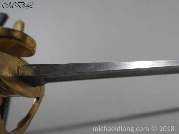 P56124 600x450 British Georgian Presentation Naval Sword