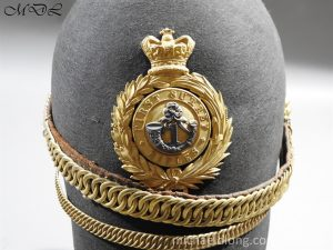P56468 300x225 First Surrey Rifles Victorian Officer's regimental pattern Helmet c 1860