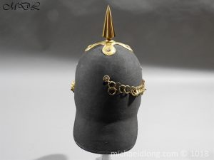 P56471 300x225 First Surrey Rifles Victorian Officer's regimental pattern Helmet c 1860