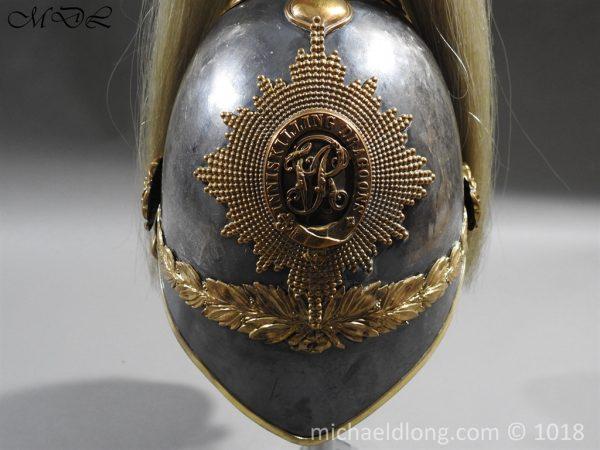 P56479 600x450 Inniskilling Dragoons 1871 Pattern Officer's Helmet