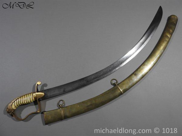 P56489 600x450 Georgian Eagle Pommel 1796 Officer's Cavalry Sword