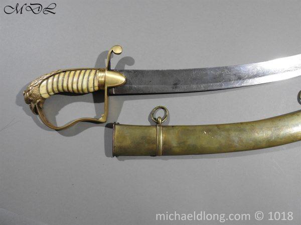 P56490 600x450 Georgian Eagle Pommel 1796 Officer's Cavalry Sword
