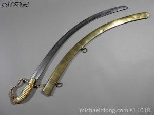 P56493 300x225 Georgian Eagle Pommel 1796 Officer's Cavalry Sword