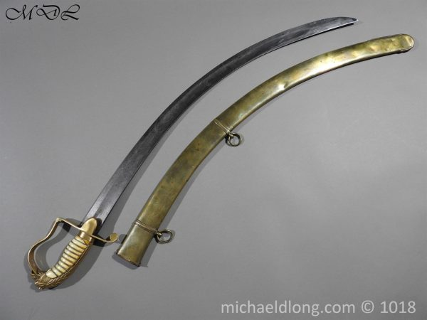 P56493 600x450 Georgian Eagle Pommel 1796 Officer's Cavalry Sword