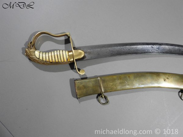 P56494 600x450 Georgian Eagle Pommel 1796 Officer's Cavalry Sword