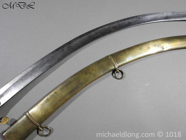 P56495 600x450 Georgian Eagle Pommel 1796 Officer's Cavalry Sword