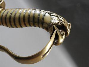 P56517 300x225 Georgian Eagle Pommel 1796 Officer's Cavalry Sword