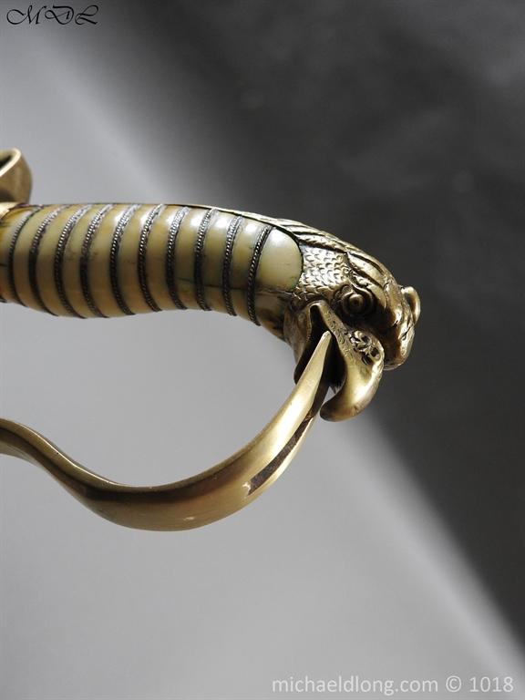P56517 Georgian Eagle Pommel 1796 Officer's Cavalry Sword
