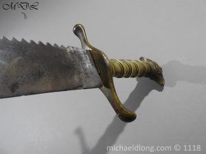 P57299 300x225 Swiss De Vigier Regiment Pioneer's Sidearm Circa 1781 92