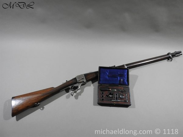 P57465 600x450 British Gibbs Farquharson Military Target Rifle.C.1874