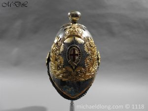 P57519 300x225 Royal Horse Guards Cased Officer's Helmet by Hawkes