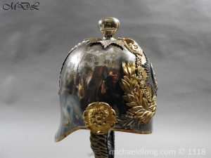 P57520 300x225 Royal Horse Guards Cased Officer's Helmet by Hawkes