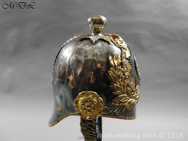 P57520 600x450 Royal Horse Guards Cased Officer's Helmet by Hawkes