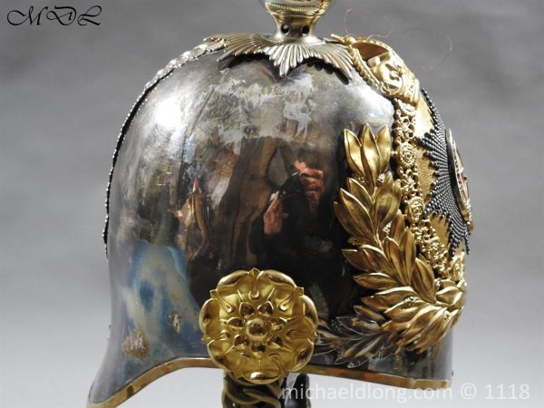 P57521 600x450 Royal Horse Guards Cased Officer's Helmet by Hawkes