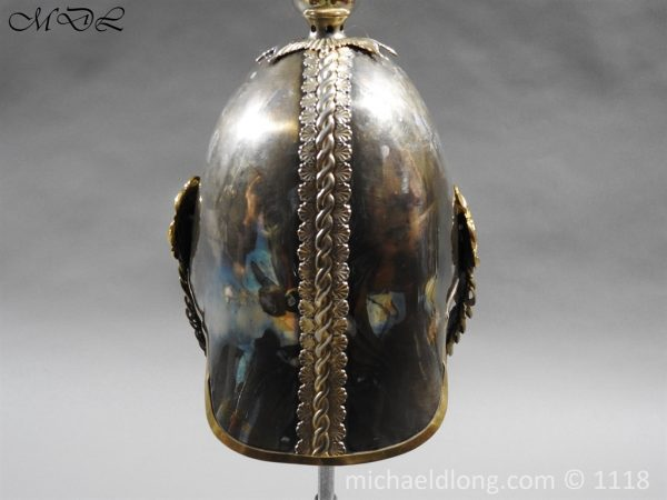 P57522 600x450 Royal Horse Guards Cased Officer's Helmet by Hawkes