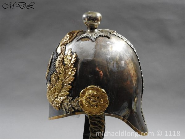 P57525 600x450 Royal Horse Guards Cased Officer's Helmet by Hawkes