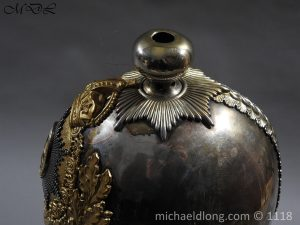P57526 300x225 Royal Horse Guards Cased Officer's Helmet by Hawkes