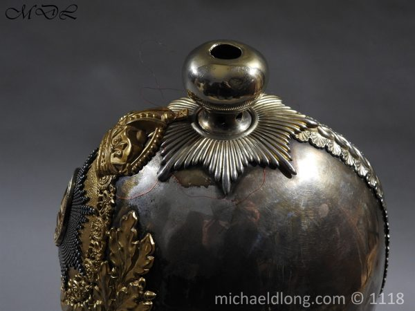 P57526 600x450 Royal Horse Guards Cased Officer's Helmet by Hawkes