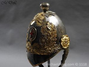 P57527 300x225 Royal Horse Guards Cased Officer's Helmet by Hawkes