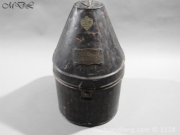 P57532 600x450 Royal Horse Guards Cased Officer's Helmet by Hawkes