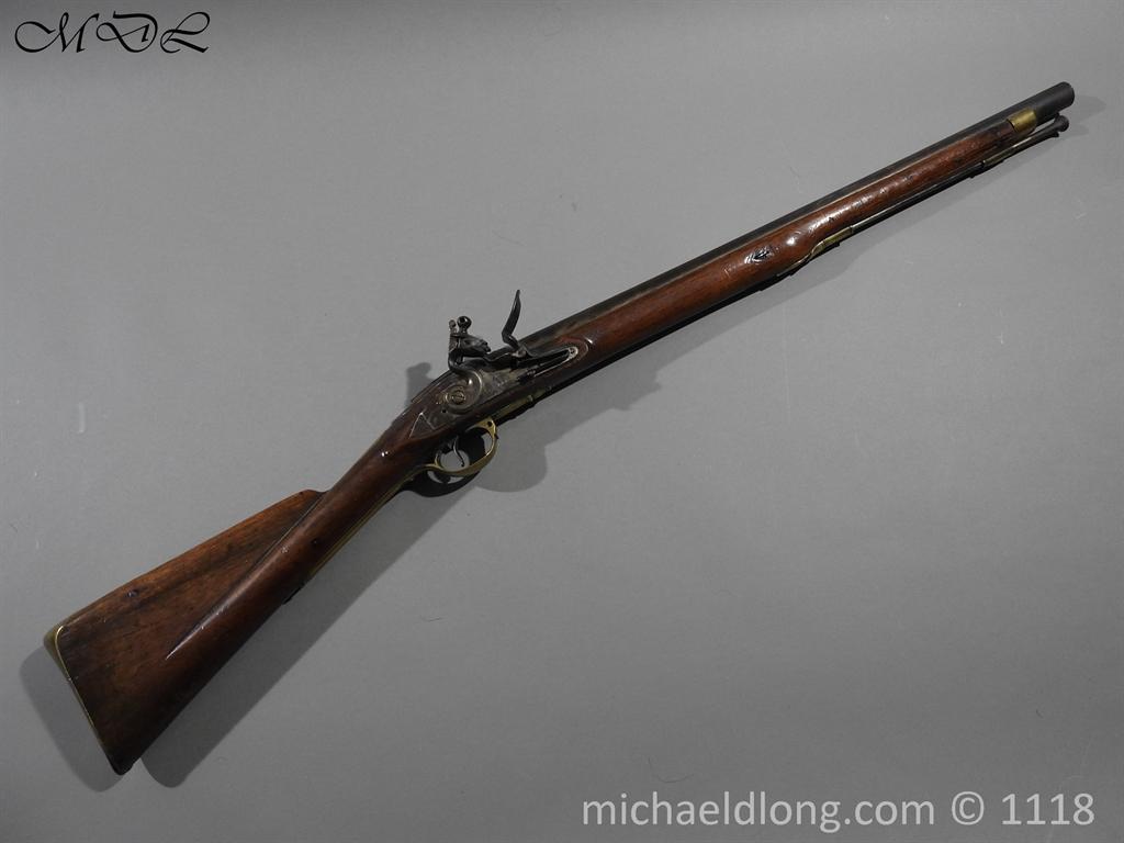 British Musket Bore Flintlock Cavalry Carbine by Nock