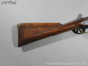 P57536 300x225 British Musket Bore Flintlock Cavalry Carbine by Nock