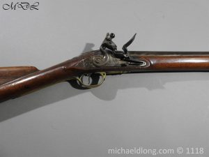 P57537 300x225 British Musket Bore Flintlock Cavalry Carbine by Nock