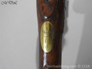P57545 300x225 British Musket Bore Flintlock Cavalry Carbine by Nock