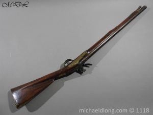 P57547 300x225 British Musket Bore Flintlock Cavalry Carbine by Nock