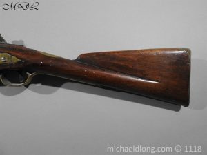 P57548 300x225 British Musket Bore Flintlock Cavalry Carbine by Nock