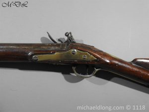P57549 300x225 British Musket Bore Flintlock Cavalry Carbine by Nock