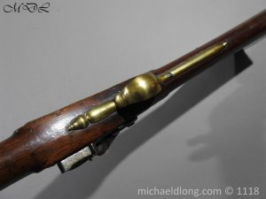 P57551 300x225 British Musket Bore Flintlock Cavalry Carbine by Nock