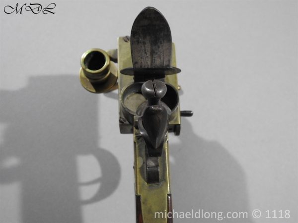 P57617 600x450 English Antique Flintlock Tinder Lighter by Bolton