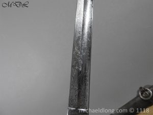 P57698 300x225 Victorian Royal Marines Light Infantry Presentation Sword
