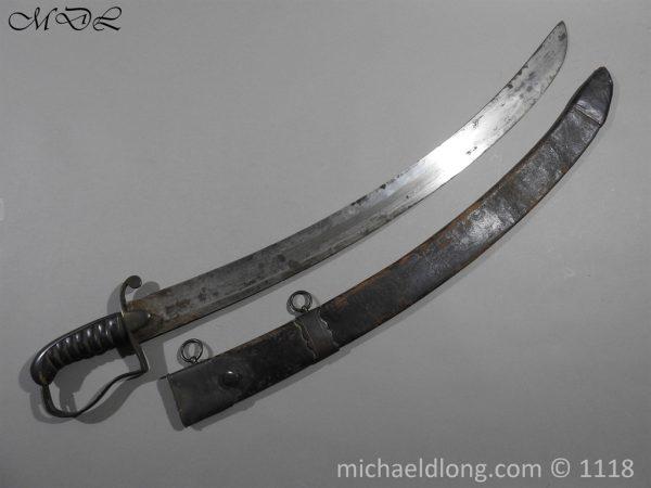 P57920 600x450 Georgian 18th Century British Naval Officer's Sword