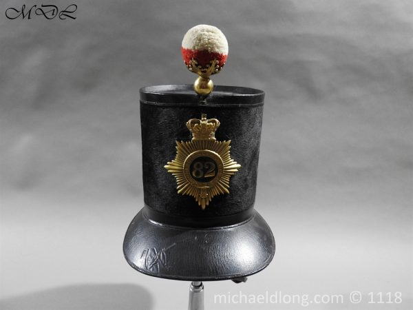 P57979 600x450 British 1855 Shako 82nd Regiment