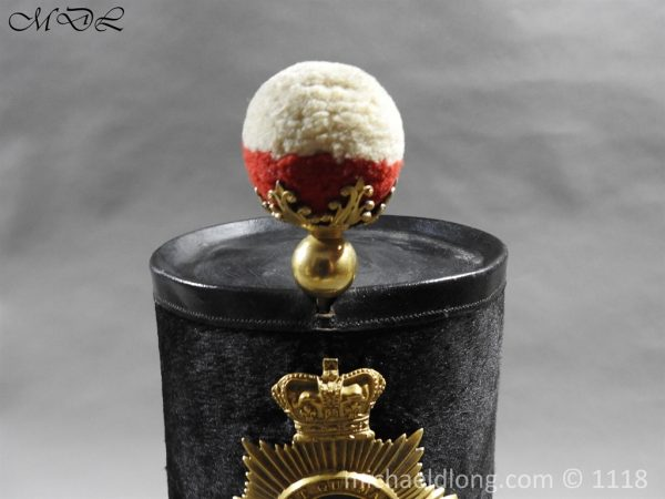 P57981 600x450 British 1855 Shako 82nd Regiment