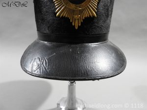 P57982 300x225 British 1855 Shako 82nd Regiment