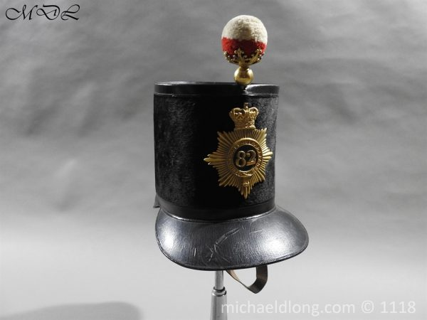 P57993 600x450 British 1855 Shako 82nd Regiment