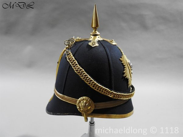 P58287 600x450 Victorian Lanarkshire Yeomanry Officer's Helmet