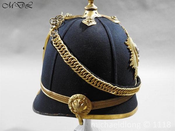 P58288 600x450 Victorian Lanarkshire Yeomanry Officer's Helmet