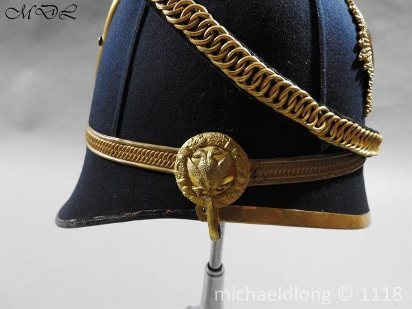 P58289 600x450 Victorian Lanarkshire Yeomanry Officer's Helmet