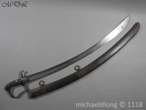 P58372 300x225 Scots Guards Officer's 1796 Light Cavalry Sword