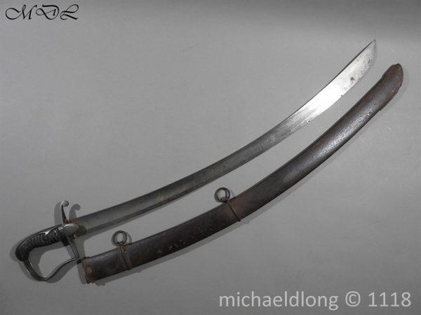 P58372 600x450 Scots Guards Officer's 1796 Light Cavalry Sword