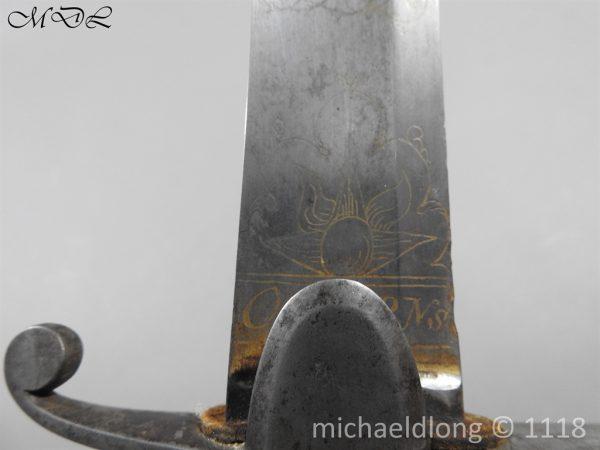 P58381 600x450 Scots Guards Officer's 1796 Light Cavalry Sword