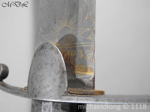 P58403 600x450 Scots Guards Officer's 1796 Light Cavalry Sword
