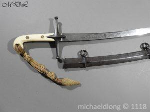 P58469 300x225 British Cavalry Hussars Officer's Mameluke Sabre